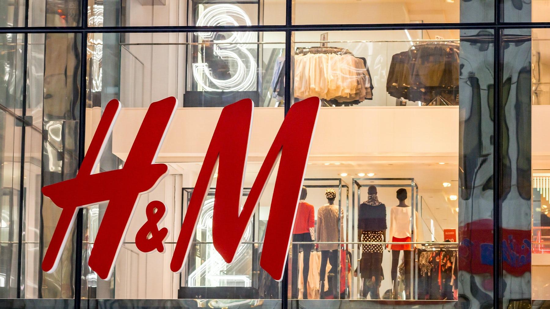 An H&M store in Manhattan, New York. Shutterstock.