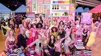 Sephora Squad参加了四肢群岛:2019年9月06日在洛杉矶,加利福尼亚州的神社观众席的美容预览派对。盖蒂图像。