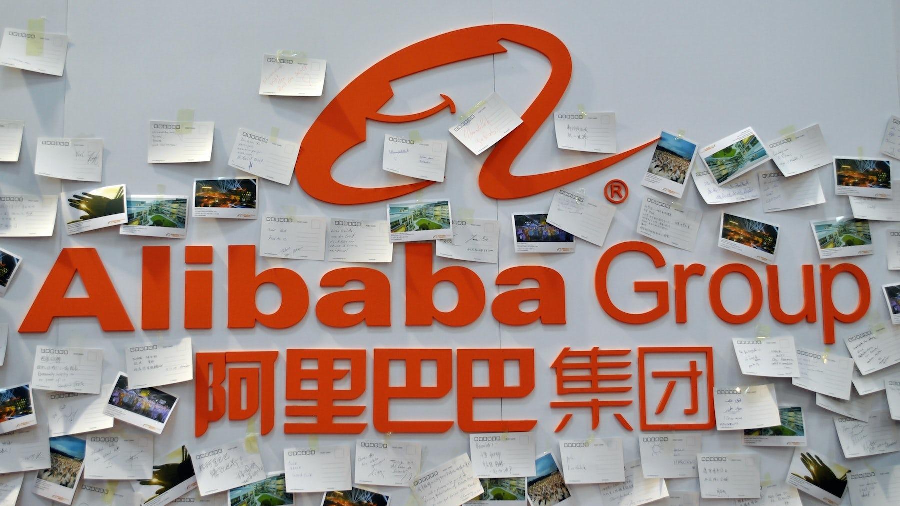 Alibaba Group's revenue jumps. Shutterstock.