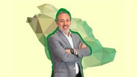 Marwan Moukarzel, CEO at Alhokair Fashion Retail. BoF Collage.