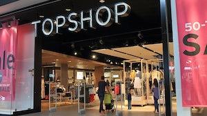 Topshop store. Source: Shutterstock.