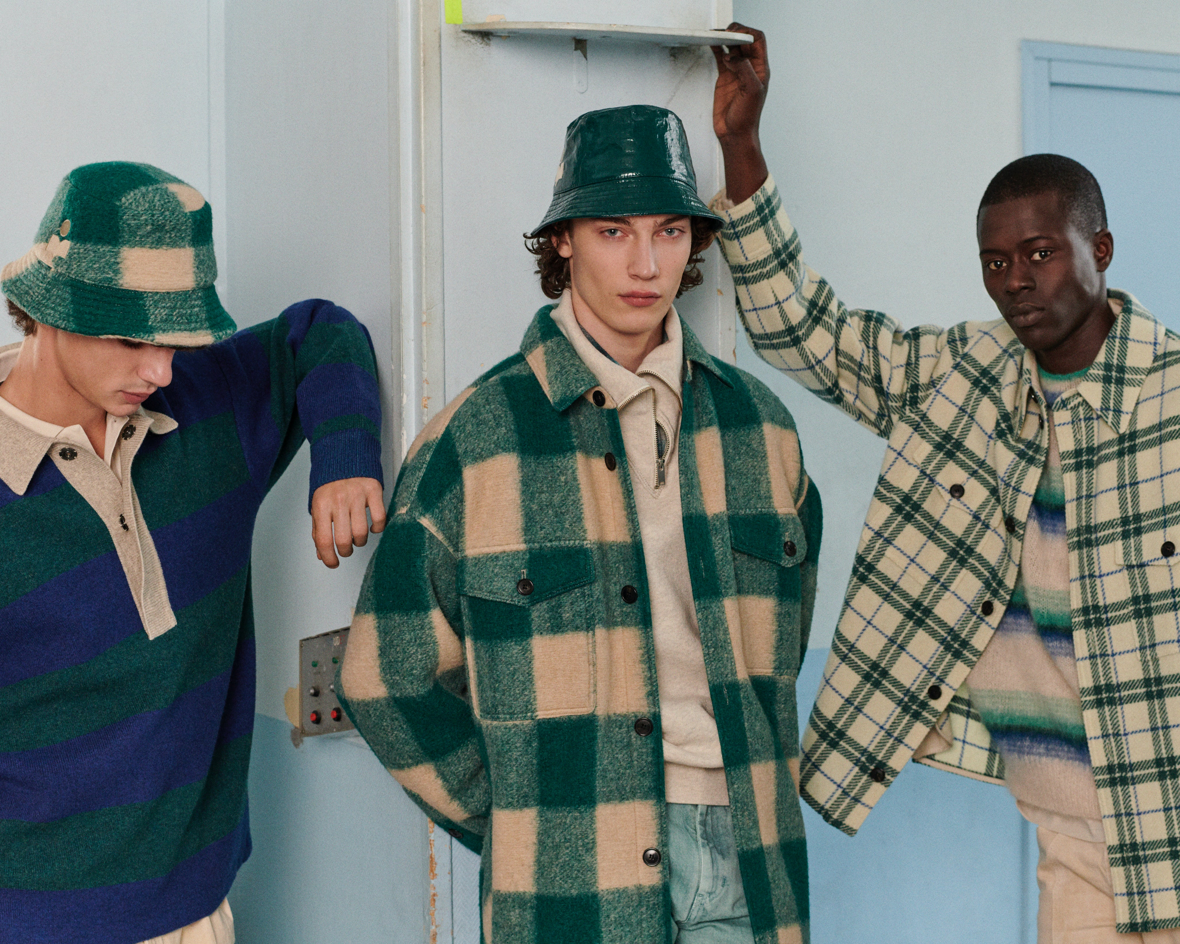 Isabel Marant showed its latest menswear collection in a video released during January's Paris Fashion Week.