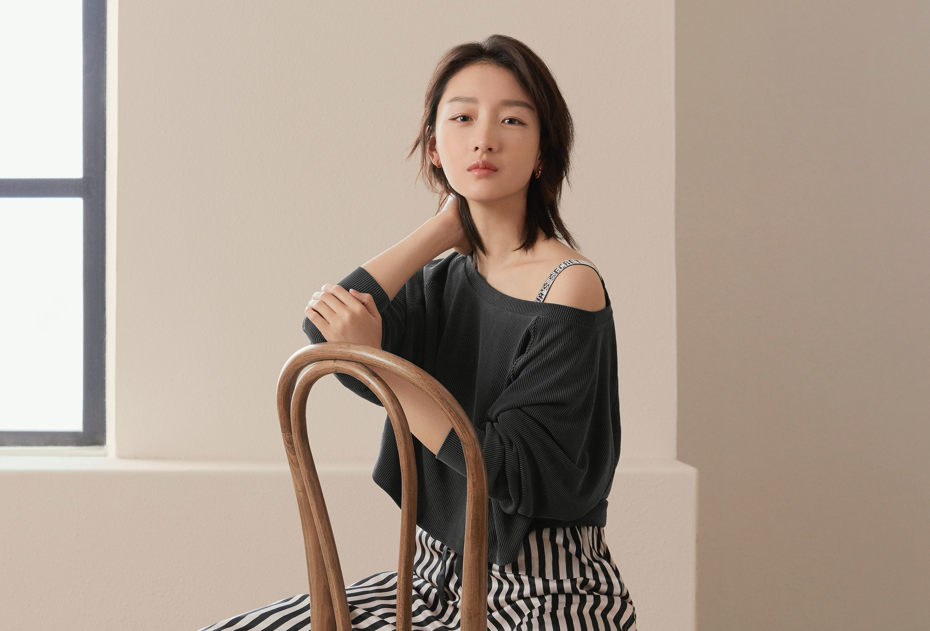 Actress Zhou Dongyu was named a Victoria's Secret ambassador in China in April 2020. Victoria's Secret.