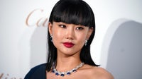 Singer Huang Ling attends opening ceremony of Cartier jewellery exhibition in Shanghai, China. Getty Images.