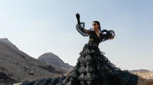 Pia Wurtzbach wearing Amato Couture. Arab Fashion Council.