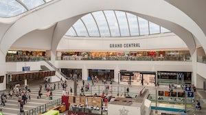 Grand Central shopping mall, Birmingham. Shutterstock.