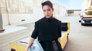 Chinese actress Liu Yifei is a Louis Vuitton brand ambassador. Louis Vuitton