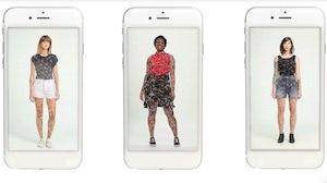 Israeli startup Zeekit offers virtual fitting rooms through augmented reality technology. Walmart