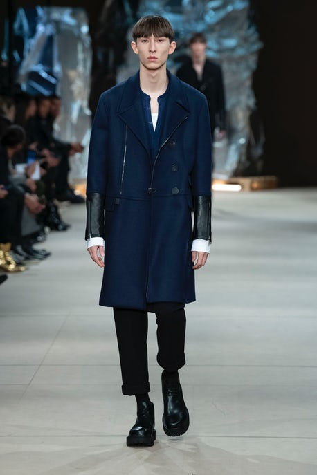 good service cheaper classic fit Neil Barrett's Silver Fox | Fashion Show Review, Menswear - Autumn ...