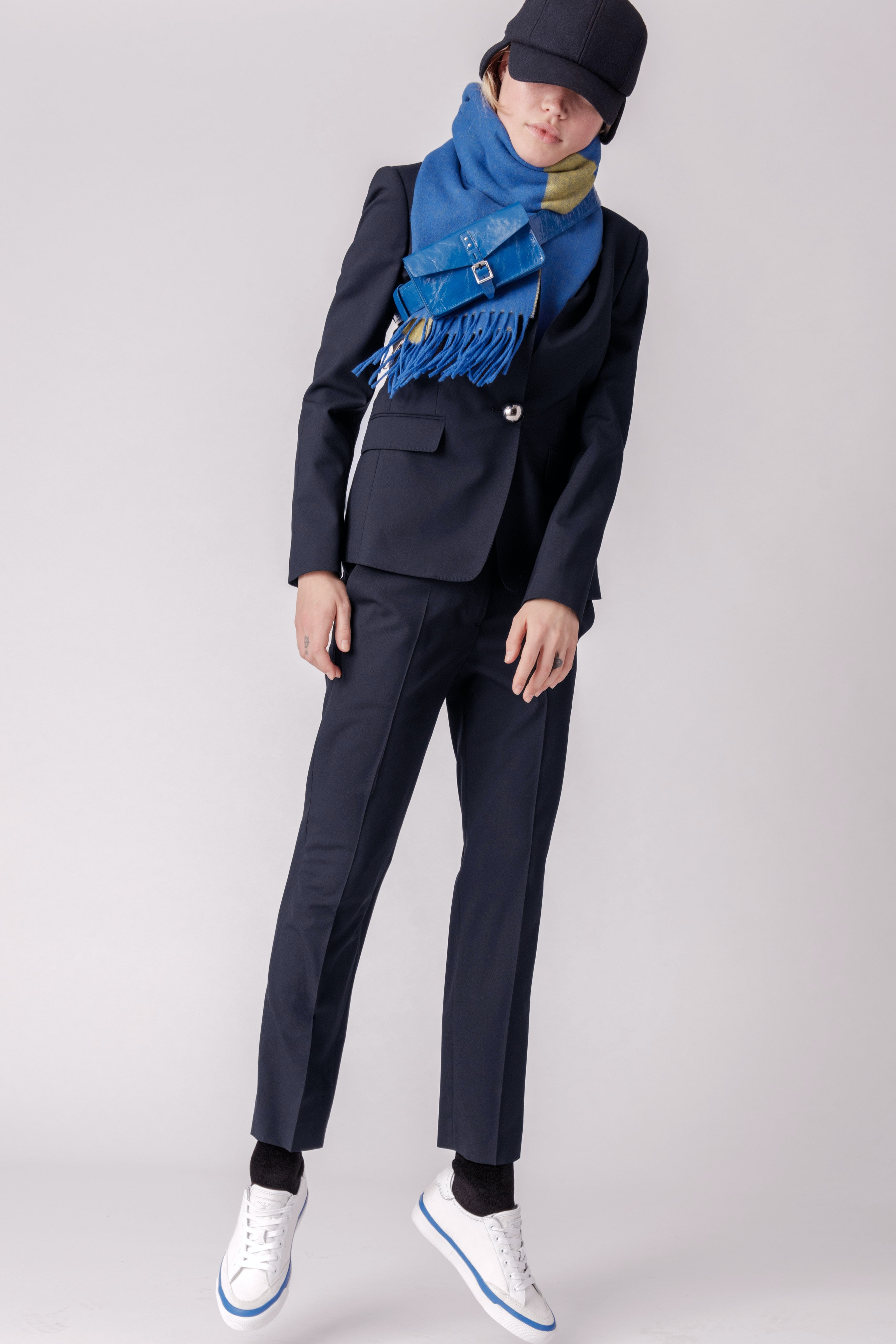 Rag and Bone Blazer with Chanel Boots 2