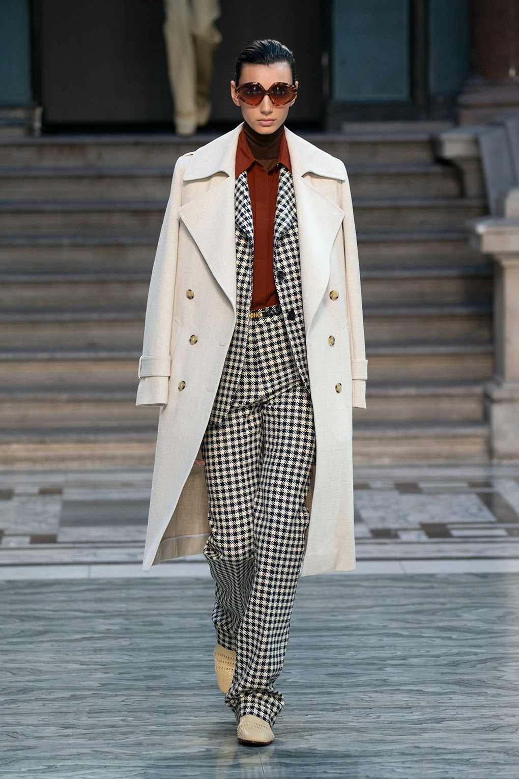 Playing Out Contrasts at Victoria Beckham