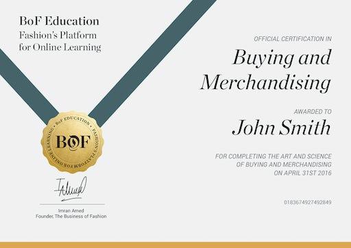 Fashion Buying & Merchandising | Online Short Course | BoF | Online ...