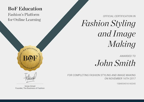 fashion styling with lucinda chambers online course bofeducation