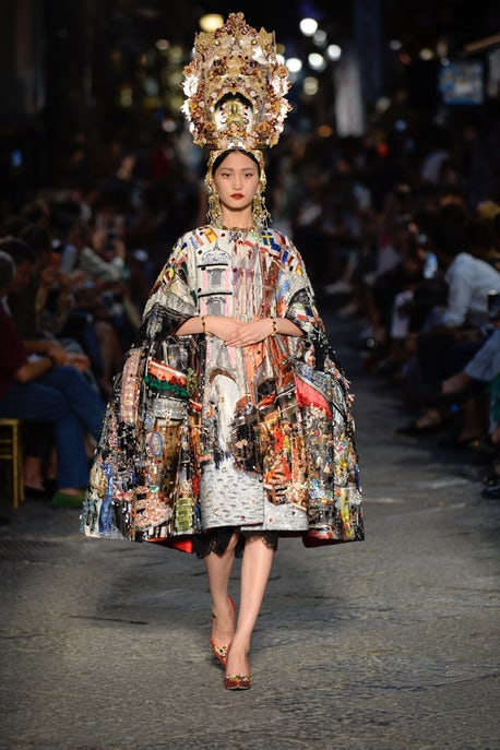 1b460f340a Dolce & Gabbana on Neapolitan Streets | Fashion Show Review, Haute ...