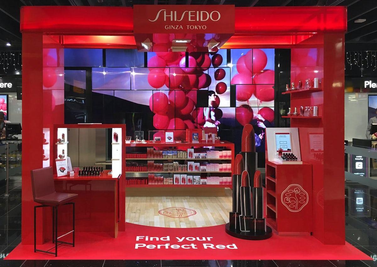 Shiseido - Heathrow T5 | L'Atelier Five's Projects | BoF