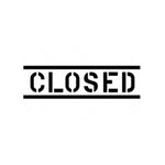 Closed company logo