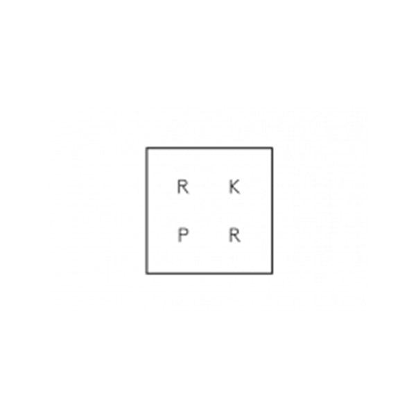 RK PR company logo
