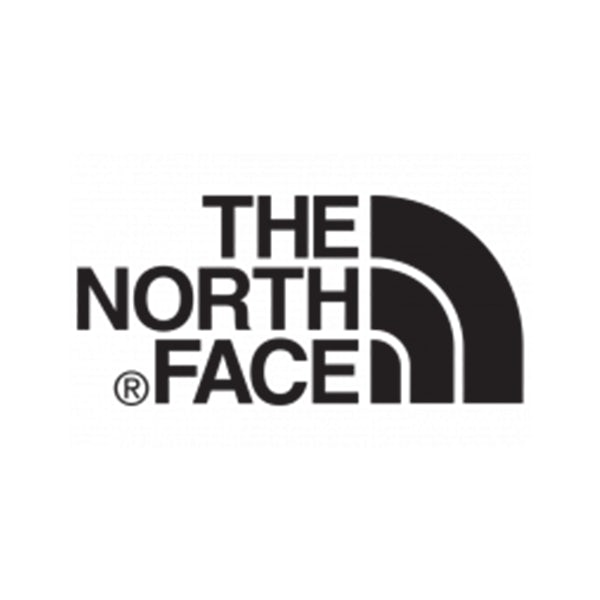 The North Face company logo