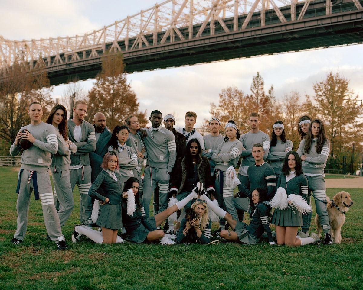 Thom Browne Football    | Thom Browne's Projects | BoF