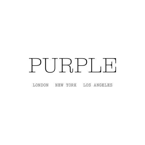 Purple company logo
