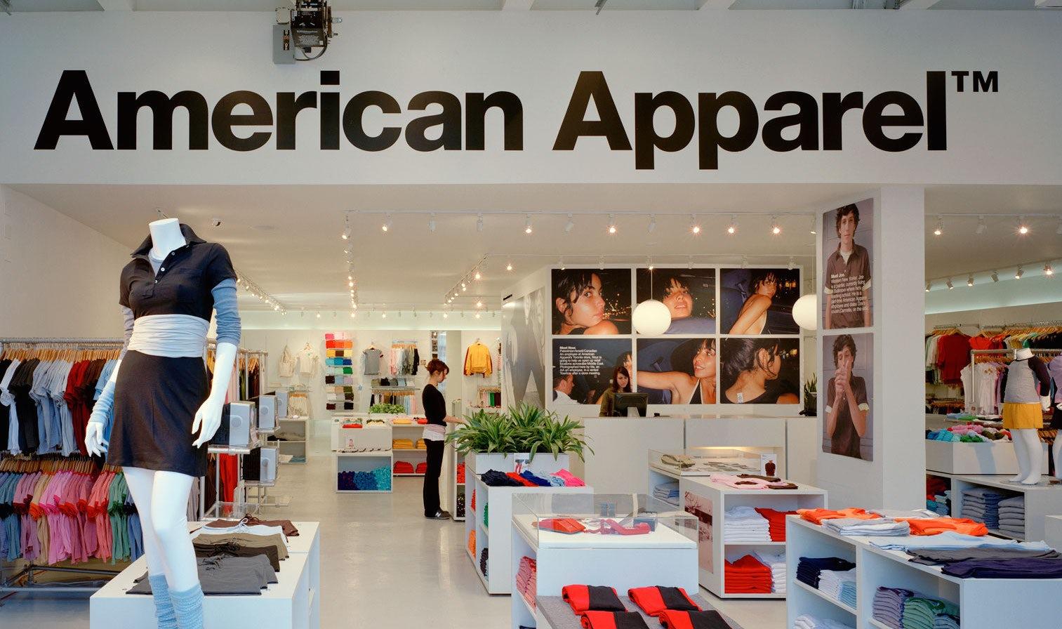 American Apparel store | Source: Shutterstock