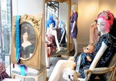 Lanvin's London store, courtesy of FashionIndie