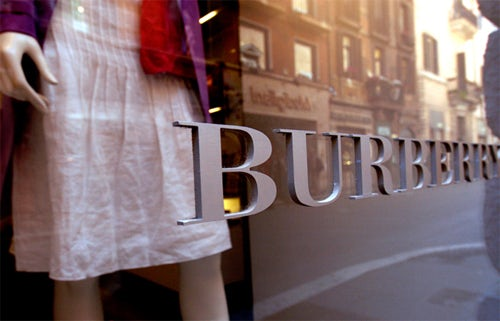 Burberry Store, courtesy of Bloomberg