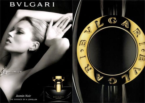 Bulgari S/S 09 ad campaign, courtesy of Bulgari