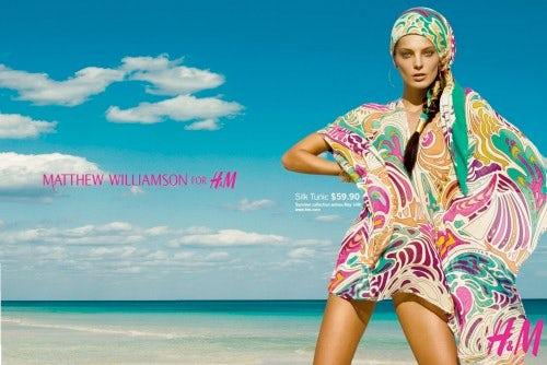 H&M S/S 09 ad campaign, courtesy of H&M