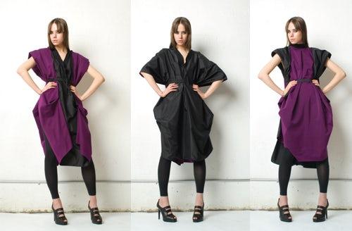 The ever-morphing Barcelona dress, courtesy of Karolina Zmarlak
