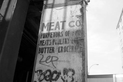 The Meatpacking district in the 1970's, courtesy of the Bowery Boys