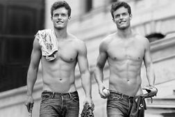 Abercrombie & Fitch ad campaign, courtesy of Abercrombie & Fitch