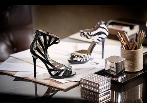 Jimmy Choo for H&M, courtesy of H&M