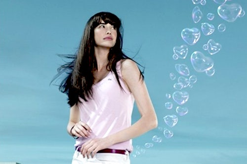 """""""Love of Pink"""" perfume ad, courtesy of Lacoste"""