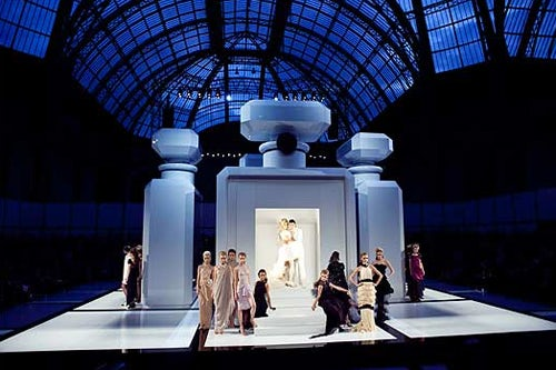 Chanel Haute Couture show, courtesy of The New York Times