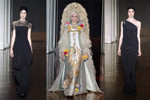 Christian Lacroix Couture A/W 09, courtesy of Coutorture