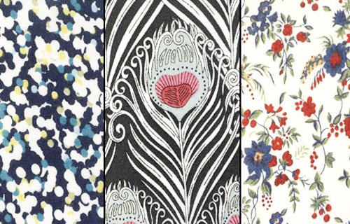 Iconic floral prints, courtesy of Liberty