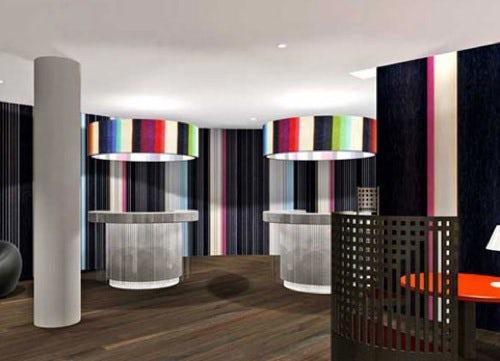 Missoni Hotel in Edinburgh, Scotland