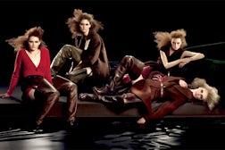 Prada A/W 09 ad campaign, courtesy of Prada