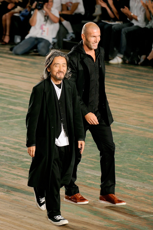 Yohji Yamamoto and Zinedine Zidane