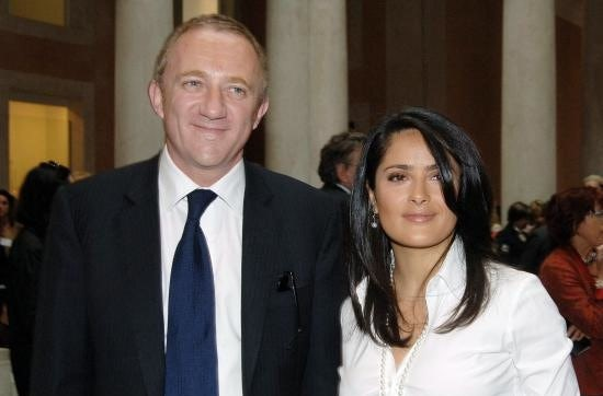 Francois Henri-Pinault and Salma Hayek