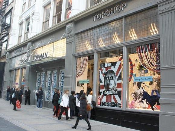 Top Shop, Top Man New York | Source: Retail Week
