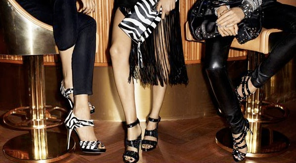 Jimmy Choo for H&M Autumn/Winter 09 | Source: H&M