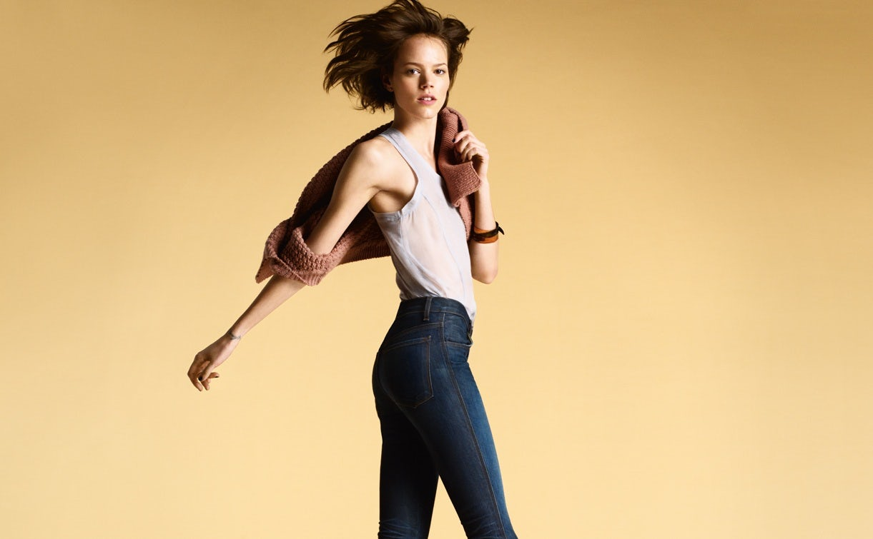 J Brand's perfect fit jeans | Source: J Brand