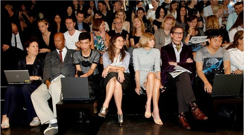 bec74101322 Dolce and Gabbana Front Row Spring Summer 2010