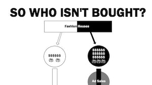So Who Isn't Bought? | Source: Bryanboy