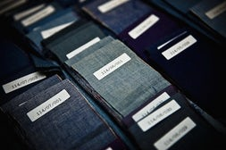 Italian fabrics by Alessandro Scotti | Source: WSJ