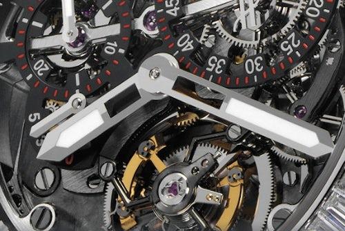Hublot Platinum Watch Detail | Source: Hublot