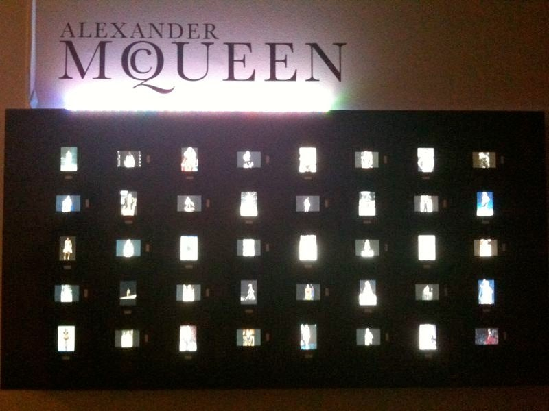 Alexander McQueen digital tribute at On|Off, London | Source: The Business of Fashion