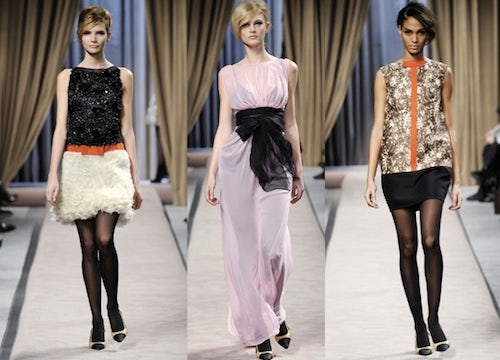 Giambattista Valli Autumn/Winter 2010 | Source: Style.com